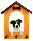 Jack Russell Terrier Dog House Leash Holder. In Home Wall Decor Products & Gifts
