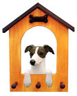 Whippet Dog House Leash Holder. In Home Wall Decor Products & Dog Breed Gifts.