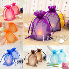 "150 pieces 4""x6"" 10cmx15cm Sheer Organza Wedding Favour Gift Candy Bag Pouch"