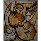 "Needlepoint canvas ""Music"""