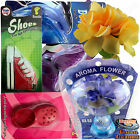NEW! 3D Hanging Air Fresheners Car Home Office Auto Mirror Truck Fresher Perfume