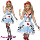 Alice in Wonderland Costume Queen of Hearts Poker Alice Mad Hatter Fancy Dress