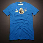 NEW Abercrombie & Fitch MENS Graphic Tee T-Shirt Top BLUE