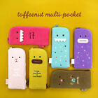 Cute Multi Pouch Pen Pencil Case_Monopoly Toffeenut Multi Pocket