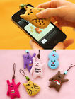 Lovely Phone Strap Fleece Screen Cleaner_Monopoly Toffeenut Friends Ver.2