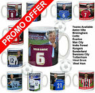 Personalised Football Manager Mugs (preview most clubs)