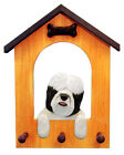 Tibetan Terrier Dog House Leash Holder. In Home Wall Decor Products & Gifts.