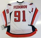 SERGEI FEDOROV WASHINGTON CAPITALS REEBOK NHL PREMIER AWAY JERSEY NEW WITH TAGS