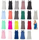 Bella - Ladies Flowy Racerback Tank Top, Size XS-2XL Light Maxine T-Shirt, 8800