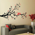 Blossom Flower Tree Birds Vinyl Art Wall Stickers / Wall Decals / Wall Art