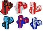 OFFICAL FOOTBALL CLUB - CHOOSE TEAM -  FOOTBALL SHIN PADS GUARDS KIDS BOYS YOUTH