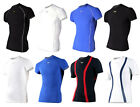 New Mens Muscle Compression Under Layer Tight Shirts - Short Sleeve - ATB fabric