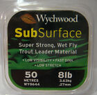Wychwood Fishing Line Sub Surface Trout Leader