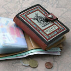 Women's Purse Wallet/Paper Money/Coin /Card Pocket Holder_Alice's in Wonderland