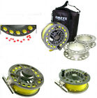 GREYS GX700 6/7/8 CASSETTE FLY REEL, TROUT FISHING *FREE LINE FITTED*