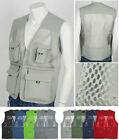New Multipurpose Mesh Vest - Fishing, Climbing, Hunting, Various work Mesh Vests
