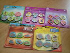 Disney / TV characters erasers -6 pack- Ideal birthday/party bags/school/gift