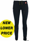 Ladies Work Girls School Smart Trousers Size 6-16 Skinny Leg Black