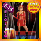 F92 Ringmaster Circus Lion Tamer Showgirl Fancy Dress Halloween Costume Outfit
