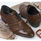 New Handmade Network String Brown Dress Casual Formal Mens Shoes