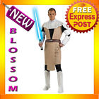 C298 Star Wars Obi Wan Kenobi DELUXE Mens Adult Halloween Fancy Dress Costume