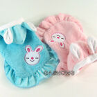 Dog&Cat Clothes Skirts Bunny Ears Hoodie Fleece Dresses_F302
