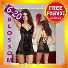 BB81 Baby Doll Dress Bridal Babydoll Nightie Slip Chemise Plus Lingerie 6-20