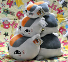 4 Sizes Natsume Yuujinchou Nyanko Sensei Cat Plush Doll Pillow Free Shipping