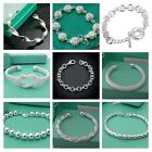 FREE P&P wholesale Fashion jewelry SILVER Womens Bracelet/bangle & Box for Gift
