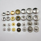 "50 Set Leather craft Rapid Rivet Button Snap Fasteners KAM 12mm 1/2"" 4 color CHO"