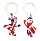 Union Jack Wenlock or Mandeville OFFCIAL Mascot Metal Keyring OLYMPICS 2012 Gift