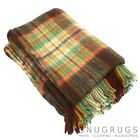 100% WOOL BLANKET/THROW/PICNIC BLANKET SMALL & LARGE (REFJHW17605)