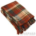100% WOOL BLANKET/THROW/PICNIC BLANKET SMALL & LARGE (REFJHW15305)