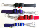 Softex® Soft Half Check Adjustable Dog Collar Colour & Size Choice