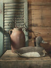 Decoy Still Life Billy Jacobs 5x7, 8x10 or12x16 Framed or Unframed Picture Print