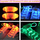 Cool LED Flash Lighting Glow Shoelace Shoe Lace DISCO Party Skating DT398