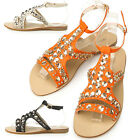 New Womens Stylish Shiny Comfortable Summer Sandle Shoes Multi Colored