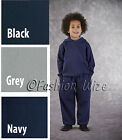 Boys Sports Track Suit Hoodies Jogging Bottoms School Uniform