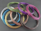 10 Meter Coil Coloured Aluminium Jewellery Wire / Craft Wire 1.5.mm - UK Seller