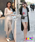 Autumn ladies casual fashion Show Thin body long-sleeved chiffon Thin coat HOT
