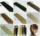 "24"" High Ponytail Clip-in Human Hair Extension W/ Drawstring 100g 120g Free Ship"