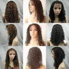 "8"" cheap lace front wig 100% human hair 7 styles 5 colors 87$"