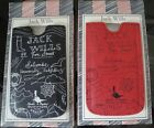 JACK WILLS LEATHER PHONE CASES,NEW IN  BOX, MARKED £24,IDEAL GIFT