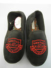 Coronation Street Newton and Ridley Slippers For Men Black UK 8 to 12 (R3AF)