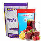 100% Pure Creatine Monohydrate Micronised Instant powder (200 mesh)