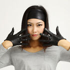SEX AND THE CITY - Classic 5 finger half genuine Italian leaher backless gloves