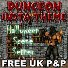 Halloween Horror Dungeon Dweller Scene Setter Decorations All In One Listing PA