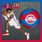 NBA DETROIT PISTONS FIGURE & A CHOICE OF A LOGO/NBA BASKETBALL CEILING FAN PULLS on eBay
