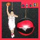 HOUSTON ROCKETS MING FIGURE & CHOICE OF LOGO OR NBA BASKETBALL CEILING FAN PULLS on eBay