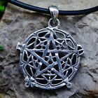 Pentacle Pentagram Celtic Star Pagan/Paganism/Wicca/Occult Pendant Brass/Pewter